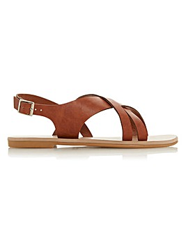 Head Over Heels Larra Sling Back Buckle Sandals