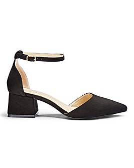 Raid Jenny Block Heel Shoes E Fit