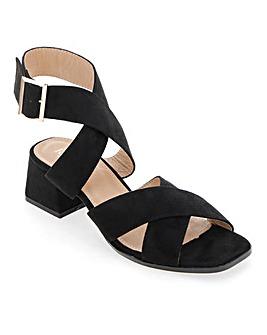 Raid Abha Ankle Strap Sandals Wide Fit