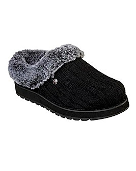 Skechers Keepsake Ice Angel Knitted Slippers Standard Fit
