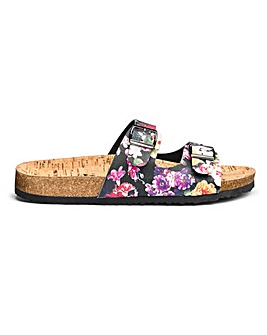 Joe Browns Foot Bed Sandals Extra Wide