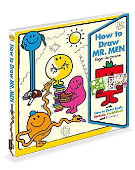 How To Draw Mr Men Book
