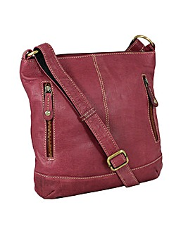 Blousey Brown  Leather Shoulderbag