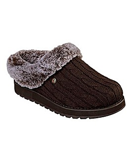 Skechers Keepsake Ice Angel Knitted Slipeprs Standard Fit