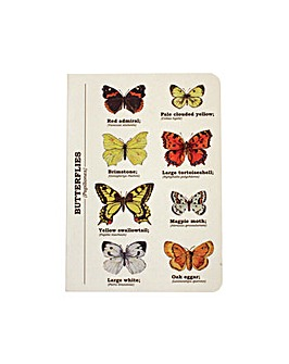 Butterly A6 Notebook