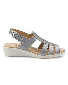 Hotter Athens Sandals Wide Fit