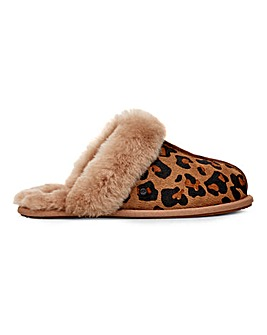 Ugg Scuffette II Leopard Slippers