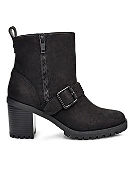 Ugg Fern Buckle High Heel Chelsea Boots Standard D Fit