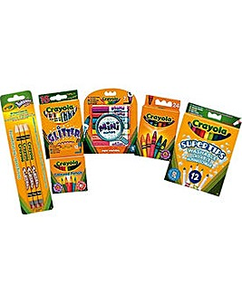 Crayola 70 Piece Stationery Set