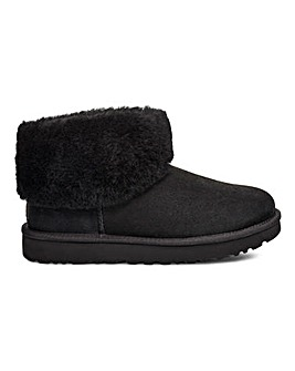 Ugg Classic Mini Fluff Ankle Boots