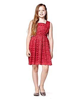 Yumi Girl Heart Lace Dress