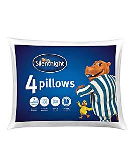 Silentnight Essentials Pack 4 Pillows