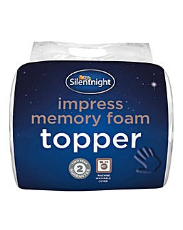 Memory Foam Mattress Topper 5cm
