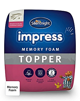 Memory Foam Mattress Topper 5cm
