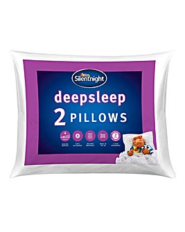 Silentnight Deep sleep Hollowfibre Machine Washable Pillows