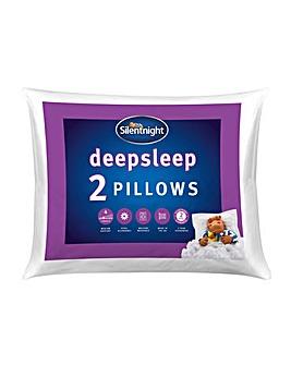 Silentnight Deep sleep Hollowfibre Machine Washable Pillows