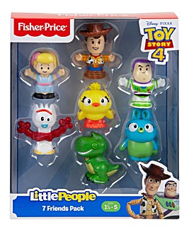 Toy Story 4 Little People Figure 7pk