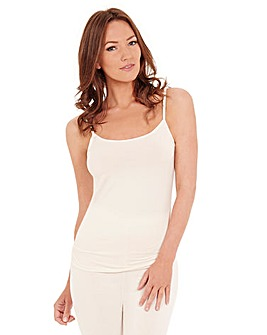 Charnos Ivory Thermal Camisole Top