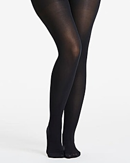 Pretty Polly Curves 60 Denier Plush Opaque Tights