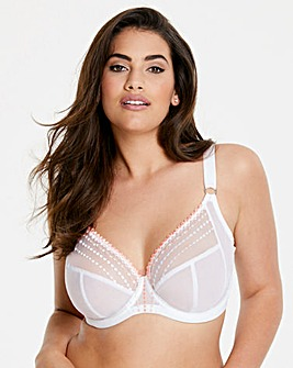 Elomi Matilda White Plunge Wired Bra