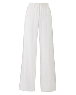 Joanna Hope Chiffon Overlay Trousers