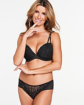 Ann Summers Sexy Lace Plunge Black Bra