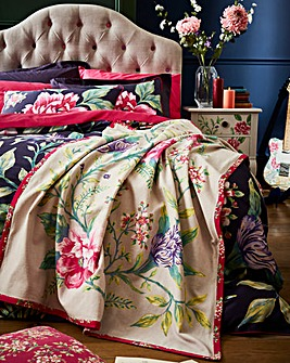 Joe Browns Floral Trail Cotton Throw