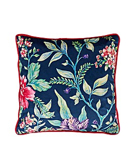 Joe Browns Floral Trail Velvet Cushion
