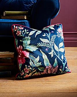 Joe Browns Floral Trail Velvet Cushion