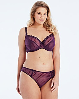 Curvy Kate Princess Purple Balcony Bra