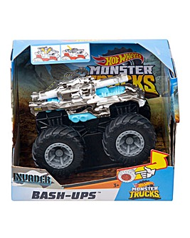 Hot Wheels Monster Trucks Bash Up Asst