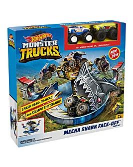 Hot Wheels Monster Trucks Mecha Shark
