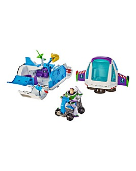 Toy Story 4 Buzz Space Command Playset