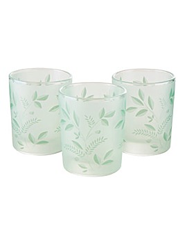 Joe Browns Cut Glass Tealight Holders