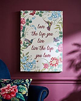 Joe Browns Love Life Canvas