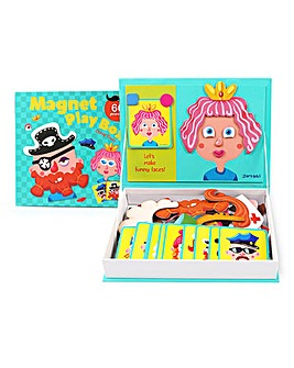Magnet Play Box Crazy Faces