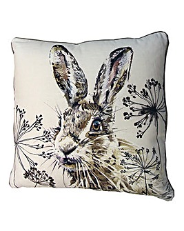 Sketch Hare Cushion