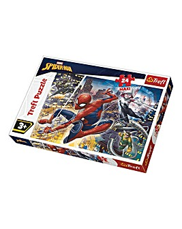 Marvel Spider-Man 24 Piece Maxi Puzzles