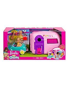 Barbie Chelsea Camper with Doll and Car