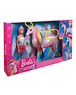 Barbie Dreamtopia Magic Unicorn & Barbie
