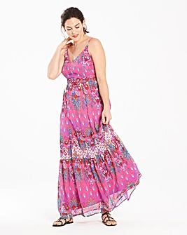 Joanna Hope Print Maxi Dress