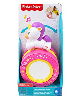 Fisher-Price Crawl Along Musical Unicorn