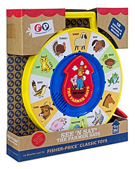 Fisher-Price Classic See N Say Farmer