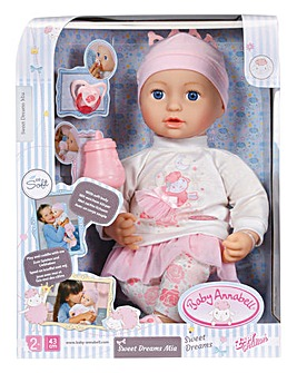 Baby Annabell Sweet Dreams Mia 43cm