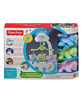 Fisher-Price 3 in 1 Butterfly Dreams Mobile