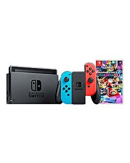 Nintendo Switch Console + Mario Kart 8