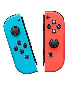 Neon Joy Con Controller Pair - Switch