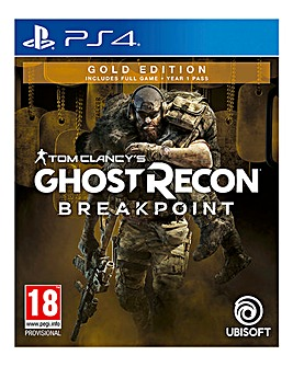 Tom Clancy Ghost Recon Gold Edition-PS4