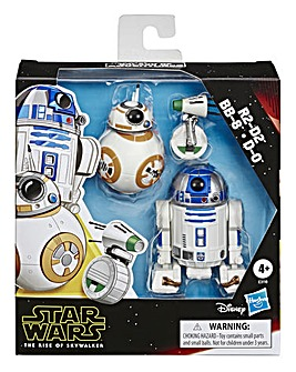 Star Wars R2-D2, BB-8, D-O Figure 3-pack