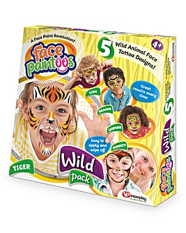 Face Paintoo Wild Pack